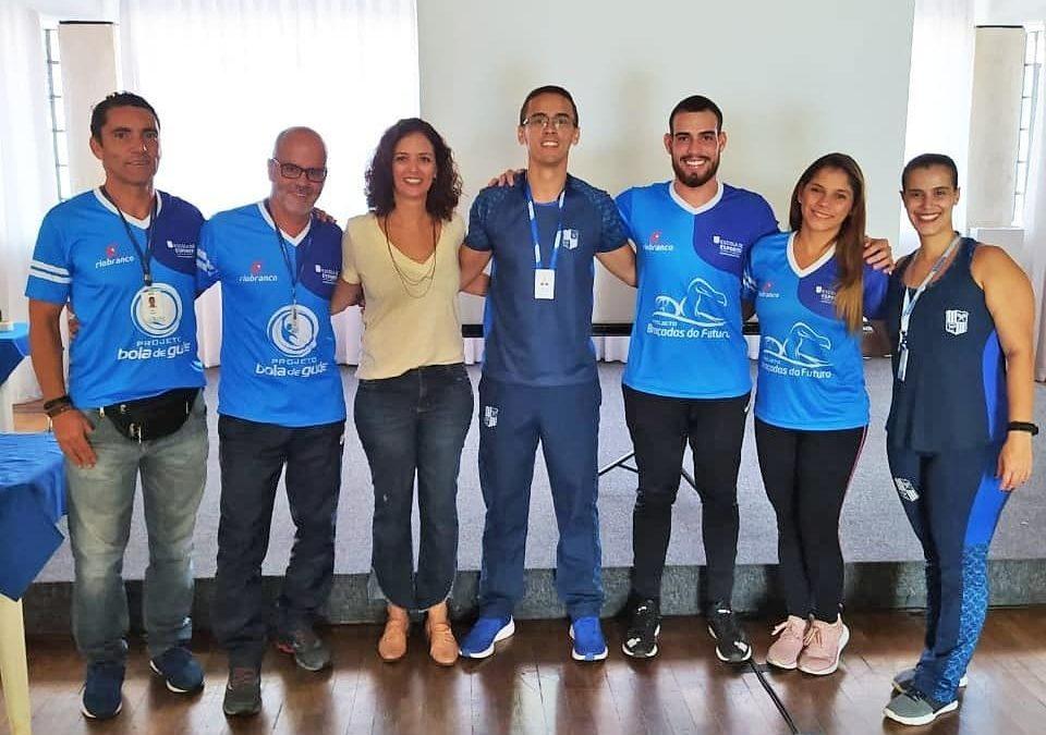 Professores da Fundação reciclam conhecimento em Minas Tênis Clube